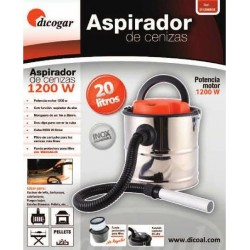 ASPIRADOR DE CENIZA DI1200 INOX